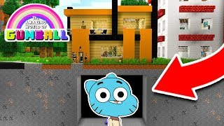 GUMBALL APPARAÎT SOUS MA MAISON DANS MINECRAFT !! 😱