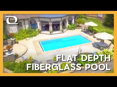 Thursday Pools   Lil Bob (California) Fiberglass Pool Design