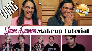 SHANE DAWSON MAKEUP TUTORIAL | Jeffree Star - Our Reaction / TWIN WORLD