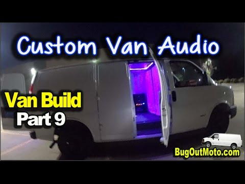 van-build-part-9:-custom-stereo-system-and-back-up-camera-|-bug-out-van-build-series