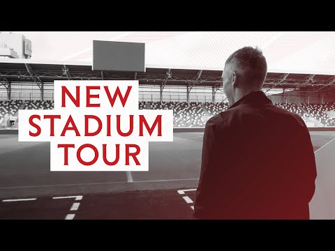 New Stadium Tour: Stu Wakeford takes us inside our new home