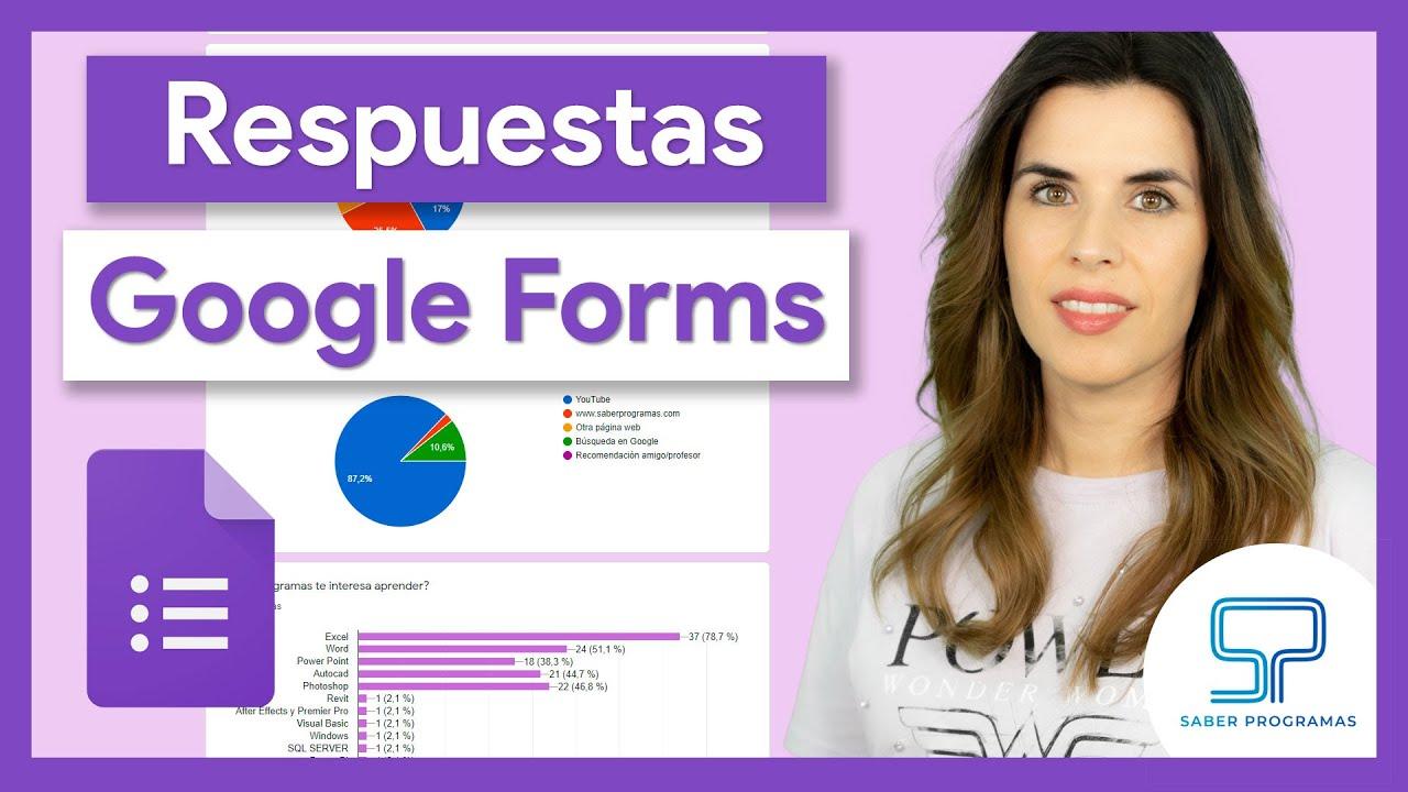 Google Forms  | 📑 Ver y descargar respuestas de tu formulario de Google | Tutorial en español HD