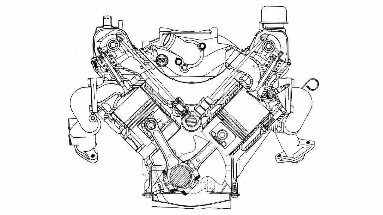 oldsmobile cutlass supreme engine diagram