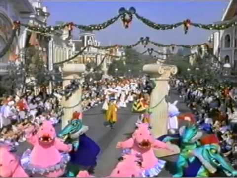 Disneyland Christmas commercial (1992) - YouTube