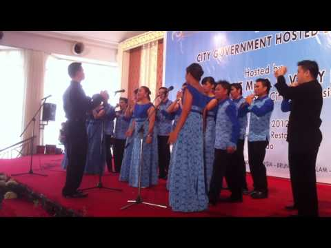Unima Choir from North Sulawesi, Part 1