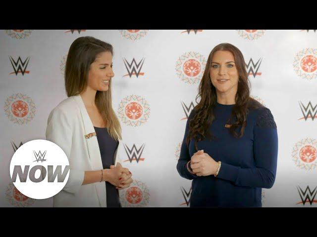 WWE Now Arabic: ستيفاني ماكمان في أبوظبي من أجل الأولمبياد الخاص الألعاب العالمية