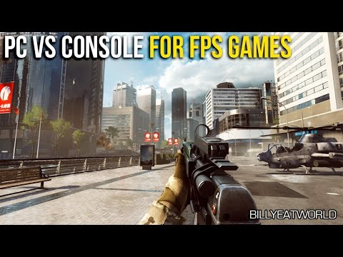 Console Vs Gaming PC For FPS Games - Which Is Better? (BF4 Gameplay)