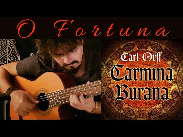 REMAKE Carmina Burana 'O Fortuna' on Classical Guitar (Carl Orff) by Luciano Renan