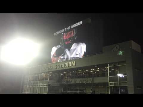 Utah State Intro video & Fight Song 9/24/16