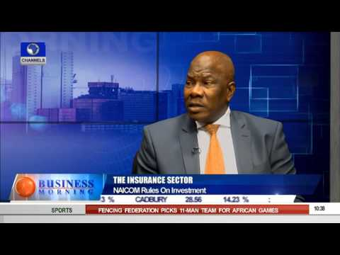 Business Morning: NAICOM Rules And The Insurance Sector -- 24/08/15 Prt 1