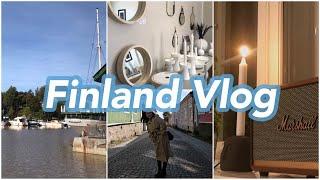 [핀란드 브이로그] 헬싱키 한식당 | 포르보 당일치기 …