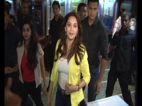 Madhuri Dixit at GAIETY GALAXY CINEMA for...