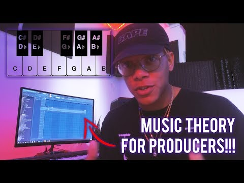 DO YOU NEED MUSIC THEORY FOR PRODUCERS?? 💜(Music Theory for Beginner Producers)