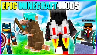 I tried most amazing minecraft mods (Part-1 )