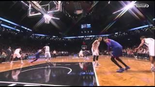 Nerlens Noel game-winning dunk: Philadelphia 76ers at Brooklyn Nets