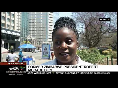 Zimbabwe mourns the death of Robert Mugabe