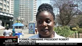 Zimbabwe mourns the death of Robert Mugabe
