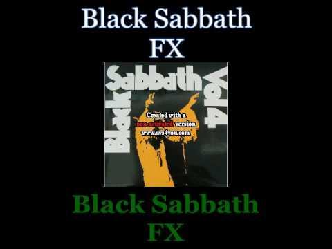 Black Sabbath - FX - 04 - Lyrics / Subtitulos en español (Nwobhm) Traducida