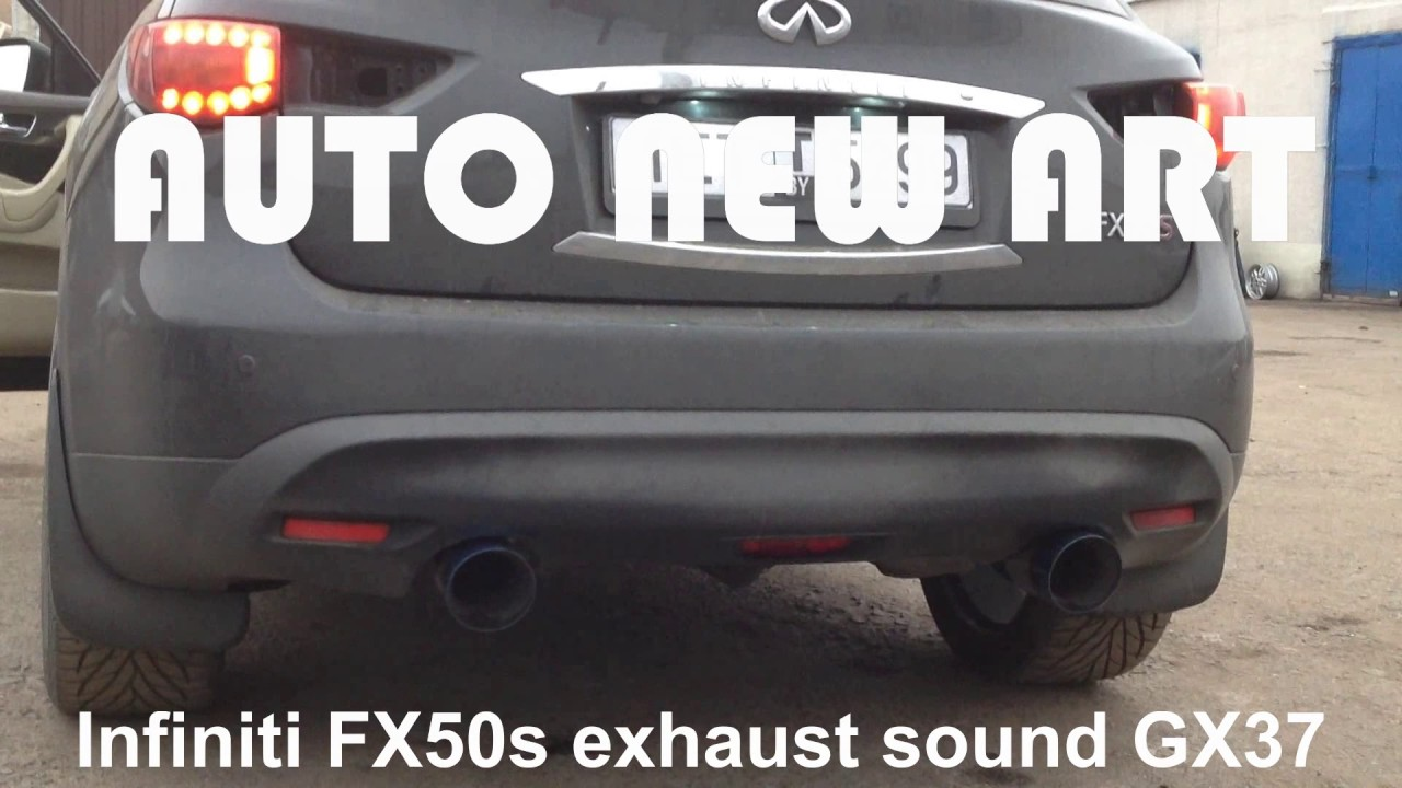 Infiniti fx50 new exhaust sound