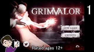 Grimvalor #1 - Mobile Castlevania style Game?