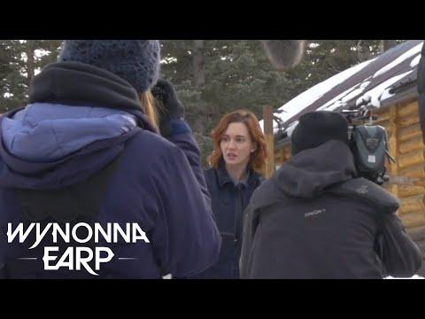 WYNONNA EARP | Behind The Scenes: 1,2,3 Drink | SYFY