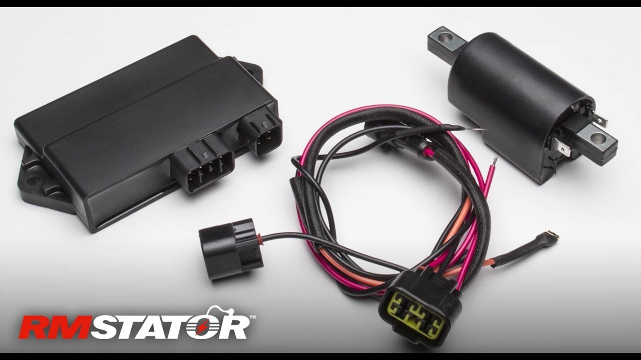 AC to DC Ignition Conversion Kit for CDI and Stator for Polaris Sportsman  600 / 700 Carb 2002-2006