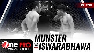 [HD] Willem N. Munster vs Agung A. Iswarabhawa - One Pride Pro Never Quit #22