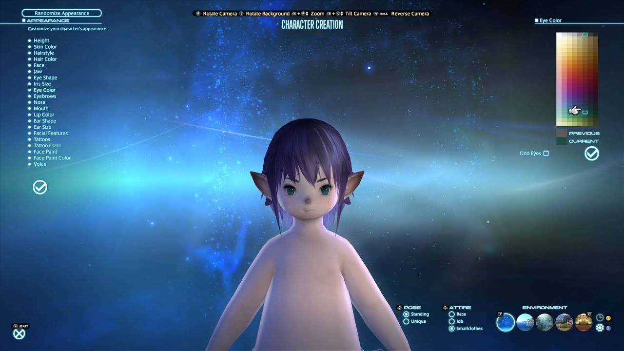 Final Fantasy XIV A Realm Reborn - Lalafell Transformation