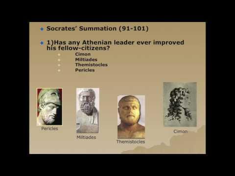 Plato's Gorgias: Discussion of Athenian Leadership, and the Myth