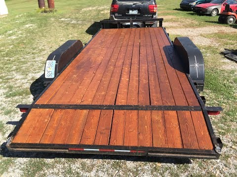 How To Install A BEAUTIFUL Custom Wood Trailer Floor That Will Hold Up For Years