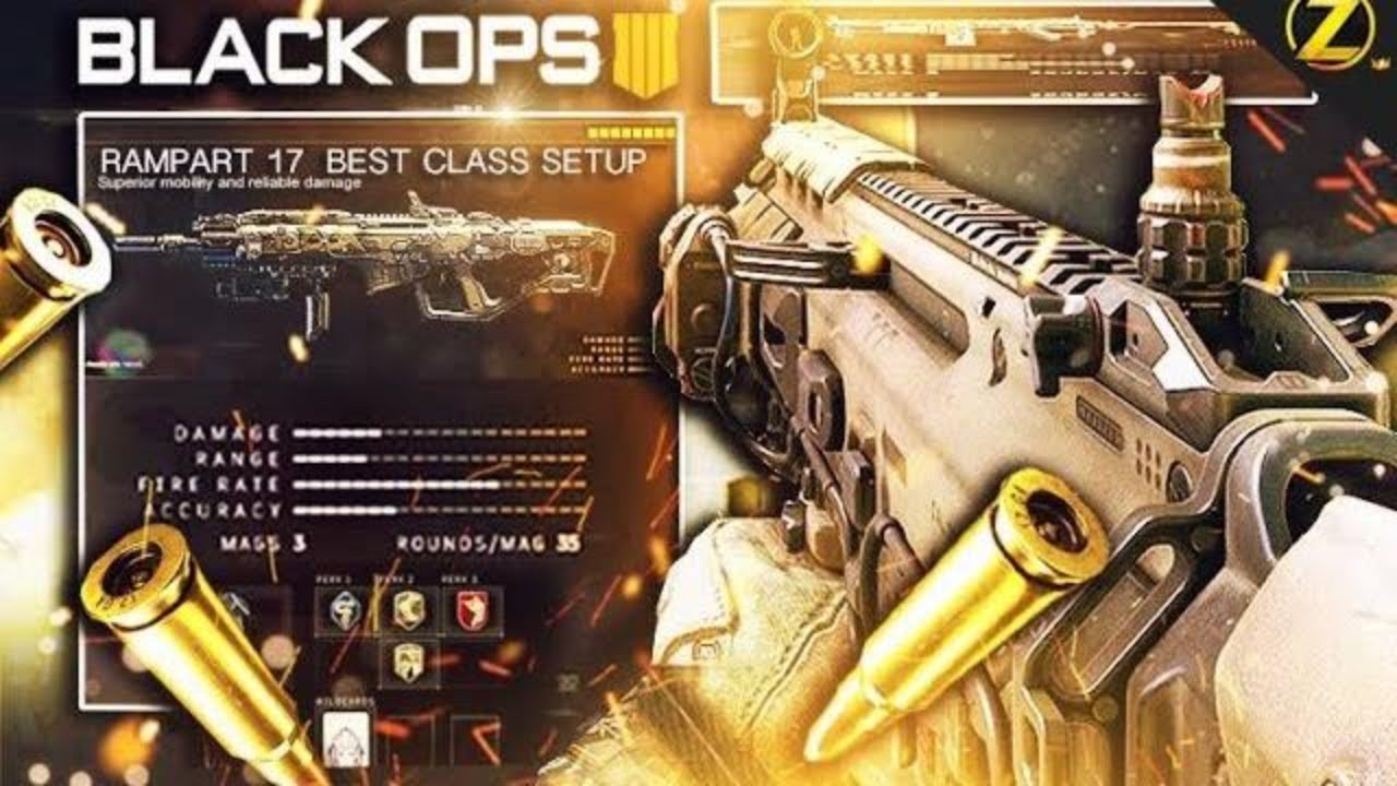 best call of duty bo4 class setup