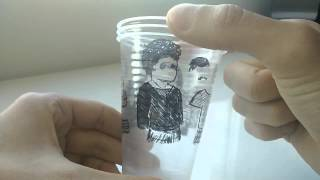 Water Cups Trick - Playing Dressup