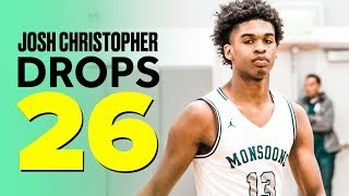 Five-Star Recruit Josh Christopher Leads Mayfair to Playoff Win - Full Highlights