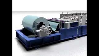 видео Оборудование для производства профнастила