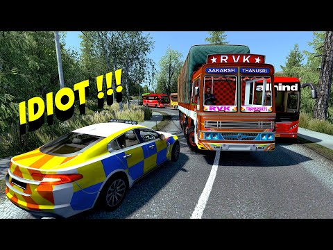 Russia To India In Euro Truck Simulator 2 | India's 1st International Cargo Truck Games