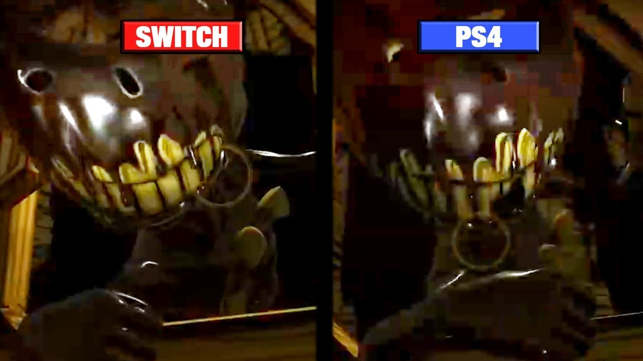 Bendy and the Ink Machine Graphics Comparison – Switch vs
