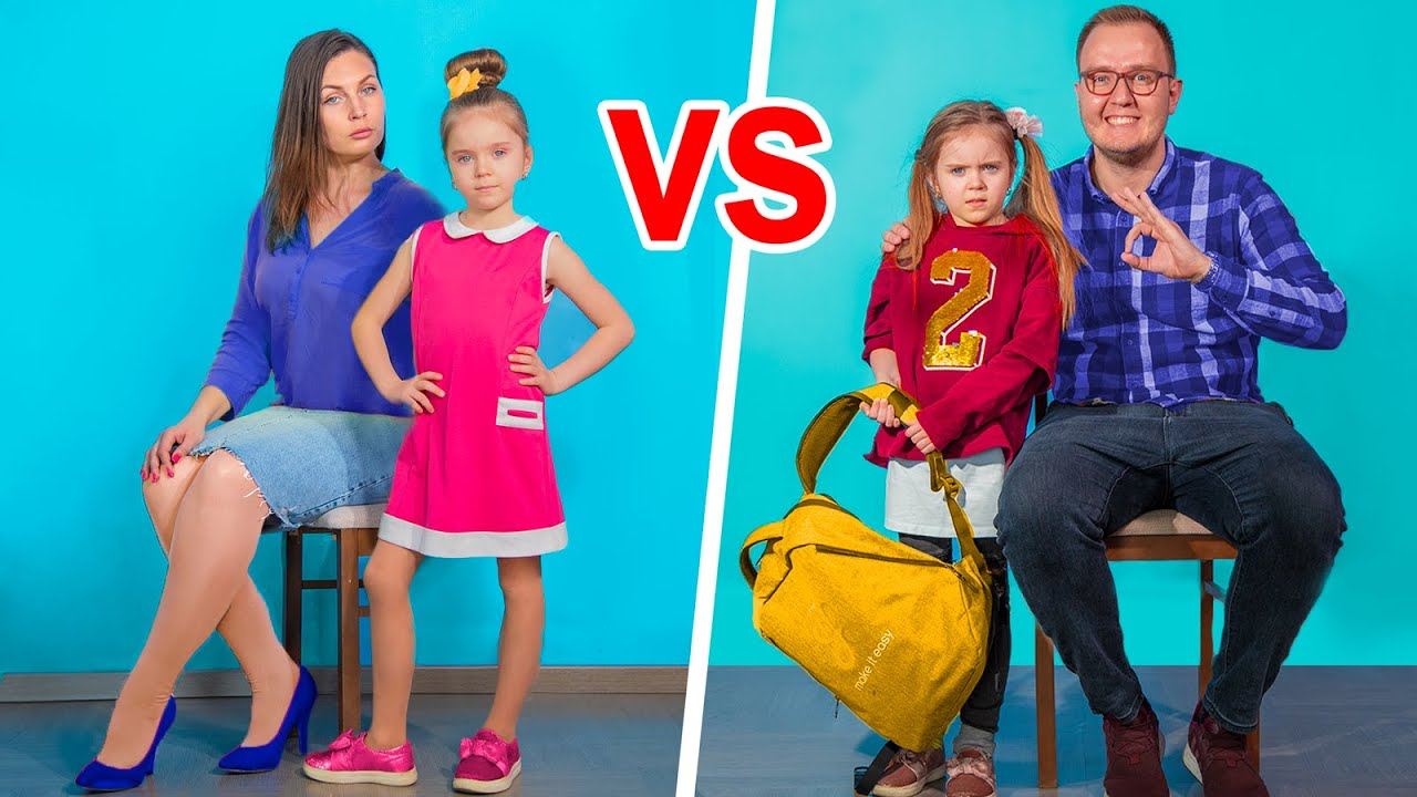 Download Mom vs Dad / 10 Funny Situations