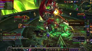 World of Warcraft matando a kill jaeden por primera vez