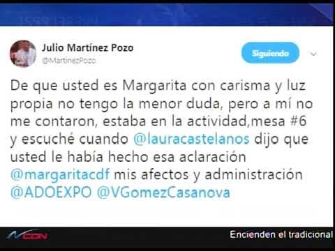 Julio Martínez Pozo y la vicepresidenta se enfrentan vía twitter