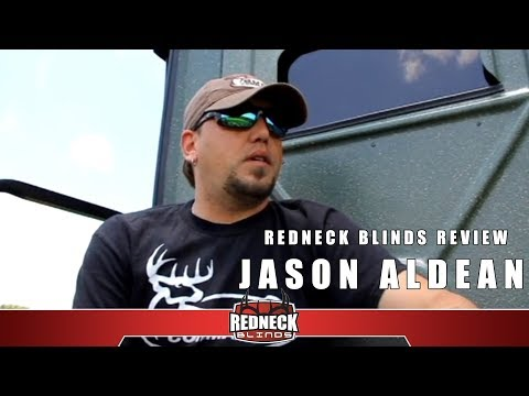 Jason Aldean on his new Redneck Blind