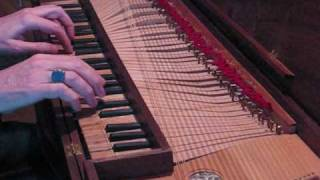 Ryan Layne Whitney (Bach: Invention No. 15 in B minor, on clavichord)