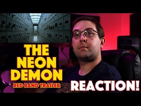 REACTION! The Neon Demon Official Red Band Trailer - Elle Fanning, Christina Hendricks