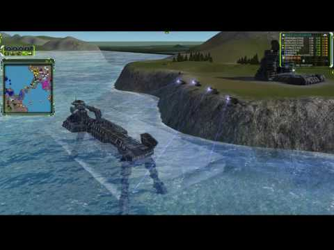 SUPREME COMMANDER EPIC - Presidential Election Special - Custom 4v4 on Setons