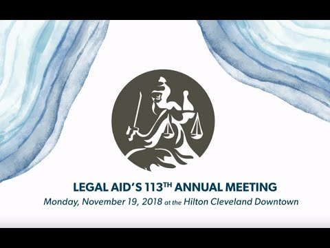 The Legal Aid Society of Cleveland's 113th Annual Meeting
