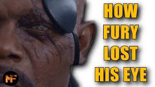 How Nick Fury Lost His Eye: MCU Explained (Captain Marvel Spoilers)