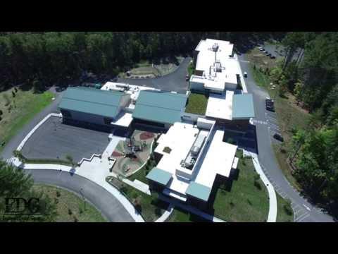 Penn Brook Elementary School - Georgetown, Ma. aerial footage