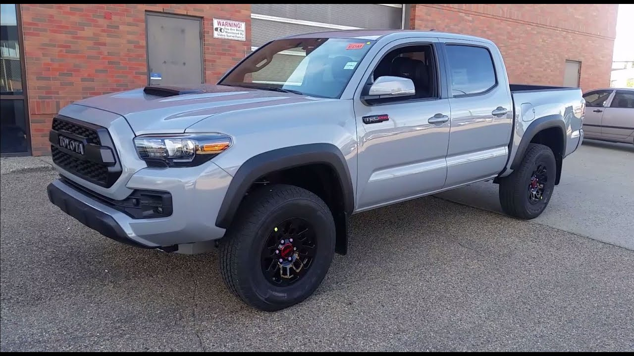 2017 Toyota Tacoma Double Cab TRD Pro in Cement grey ...
