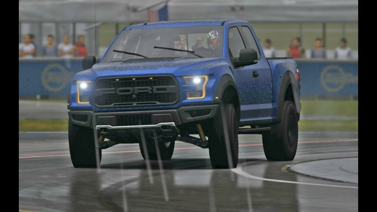 Amazing 2017 Ford F150 Raptor Top Gear Test Track In The Wet