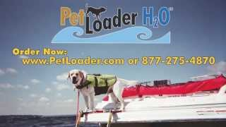 Pet Loader H2O - Dog stairs for boats and pool decks