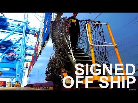 Signed Off Ship Finally | In Hong Kong Life Ashore? | Vlog #7